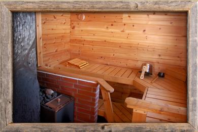 Suuri sauna hyvät löylyt