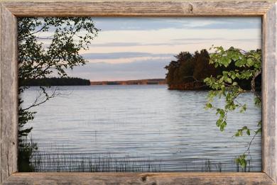 Simojärvi ranta