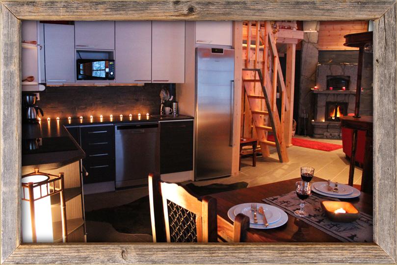 Moderni suuri keittiö