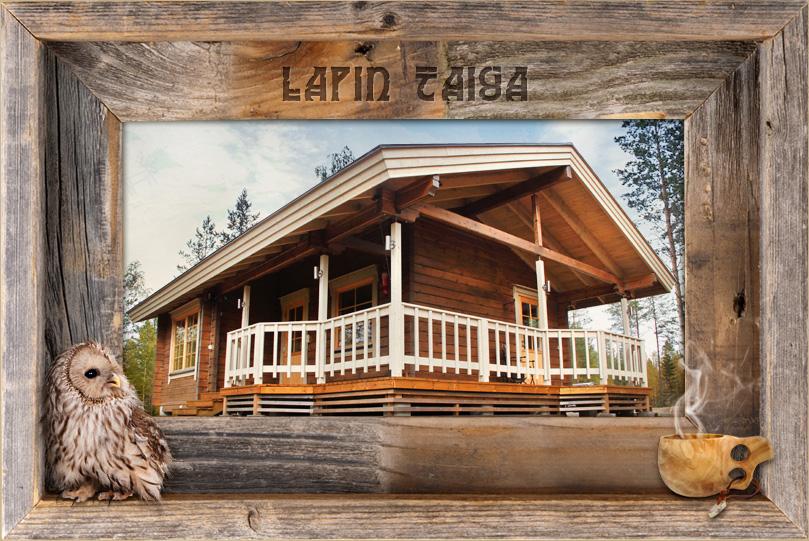 Lappische Taiga Hütte